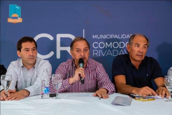 """Linares: """"En Comodoro las obras son reales, no quedan sólo en palabras"""""""