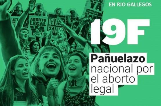 Río Gallegos se sumará al pañuelazo del #19F