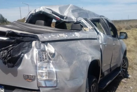 Vuelco cerca de Garayalde: cuatro heridos