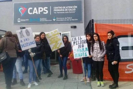 El CAPS Peliche no abrirá sus puertas hoy por un reclamo de ATE
