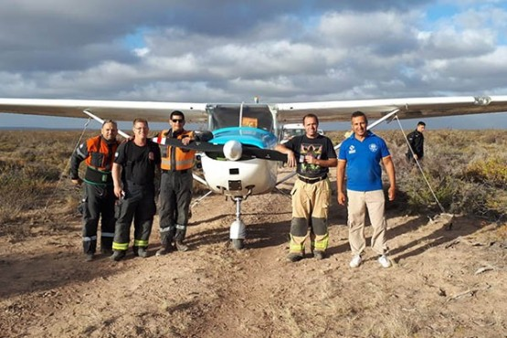 Aterrizaje de emergencia: una falla mecánica generó alerta