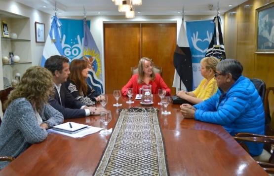 El Gabinete recibió a Carabajal.