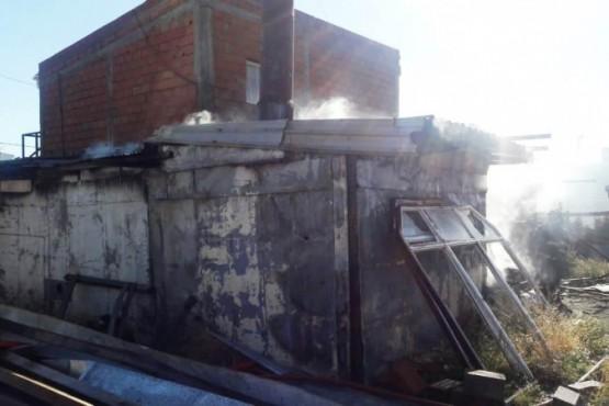 Continúan las investigaciones para saber las causas de un incendio
