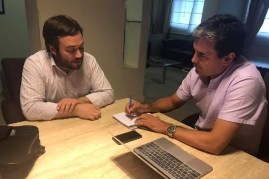 Kalmus se reunió con el Ministro de Hidrocarburos de Chubut