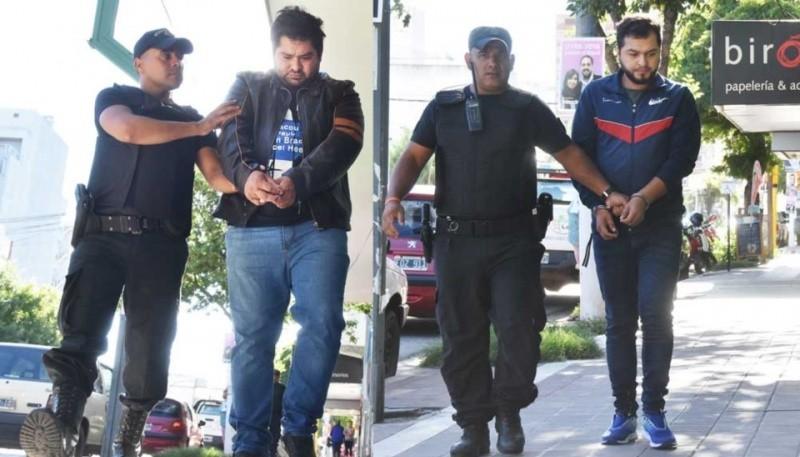 Los dos ciudadanos paraguayos detenidos en La Pampa. Uno vive en Comodoro. (Foto: El Diario de La Pampa)