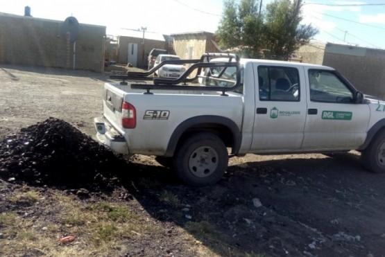Sigue la entrega de carbón para la temporada invernal