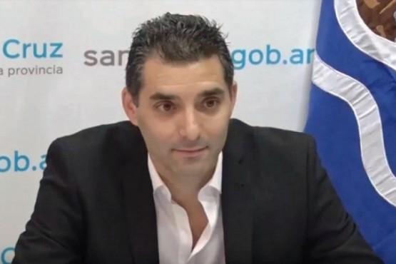 Esteban Tejada, presidente de la empresa estatal FO.MI.CRUZ. (Archivo).