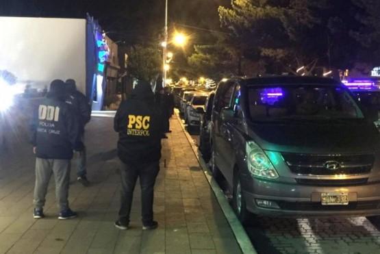 Allanamientos y detenidos en investigación por narcotráfico
