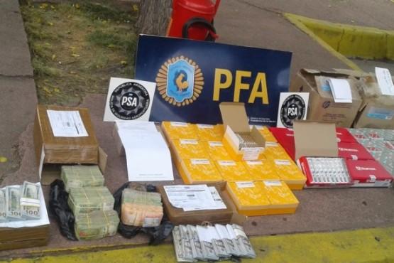 Fuerza federal secuestró encomiendas con grandes sumas de dinero