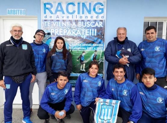 Racing prueba en el Campus del Hispano
