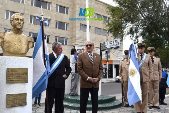 Se conmemoró el 241° Aniversario del Natalicio del General San Martín