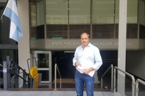 Diputado por el Pueblo de Perito Moreno, Javier Flores.