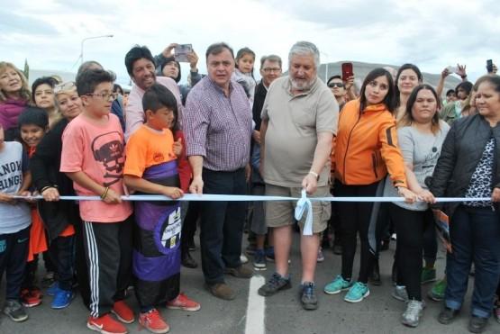 """Belloni inauguró """"la obra más importante"""" como intendente de El Calafate"""