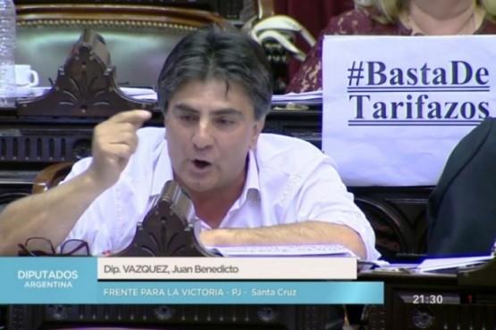 Vásquez trató a Macri de