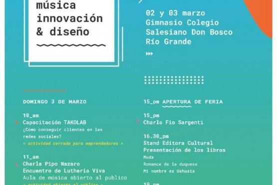 Convención de música, innovación y diseño
