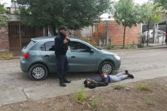 Dos detenidos por tiroteo entre bandas: uno es menor y llevaba puesto un chaleco antibalas
