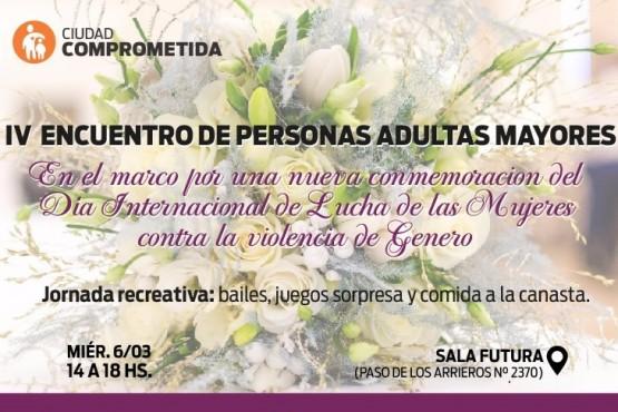 Se realizará el IV Encuentro de Adultos Mayores