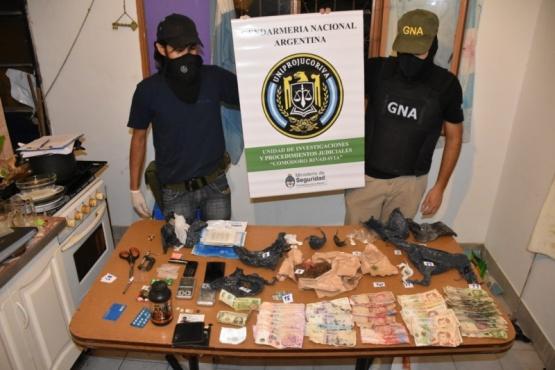 Desbaratan La Banda del Delivery: tenían marihuana, cocaína, pastillas y armas