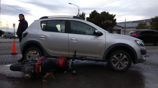 Nuevo accidente de tránsito en la ciudad
