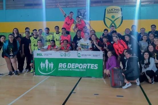 """Los ganadores del """"Handball 4 vs. 4"""""""