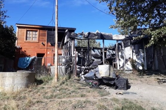 Un joven murió en un incendio