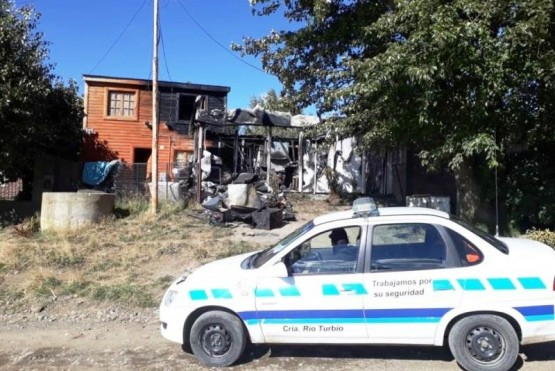 Incendio fatal: un hombre murió a causa de la inhalación de humo