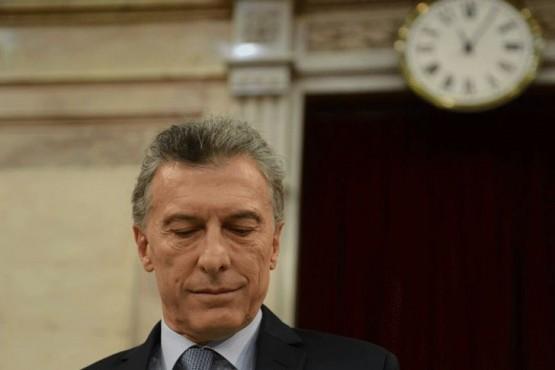 Macri en el Congreso - Cuarterolo FOTO: PABLO CUARTEROLO