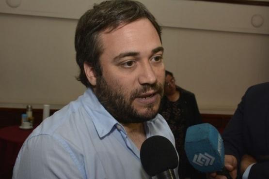 El presidente del Instituto de Energía de la provincia, Lic. Matías Kalmus,