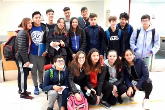 Natación de Hispano rumbo a Santiago del Estero