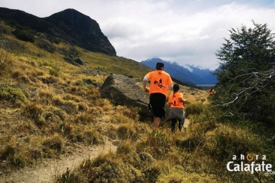 """""""La Bajada del Torre"""" abrió la Fiesta del Trekking"""