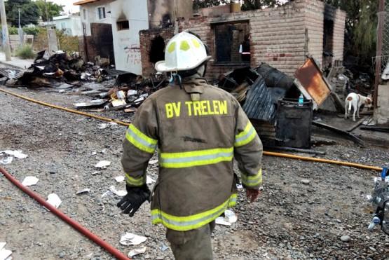 Un hombre murió en un incendio de una vivienda