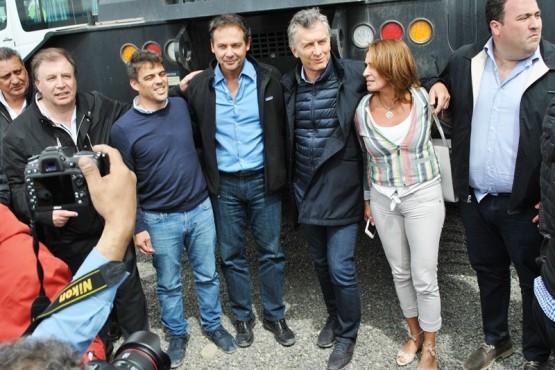 Macri, ahora observado electoralmente por la UCR local. (J.C.C).