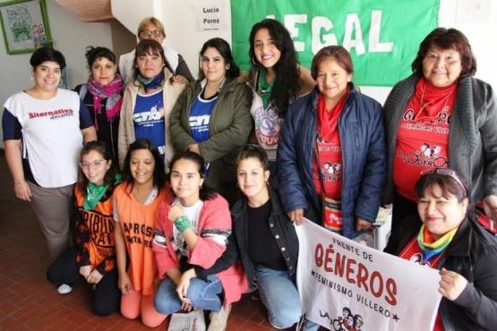 La Mesa de Mujeres convocó a la comunidad a movilizarse y a parar este #8M
