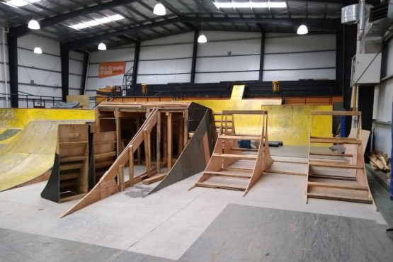Se reparan las rampas del Skate Park