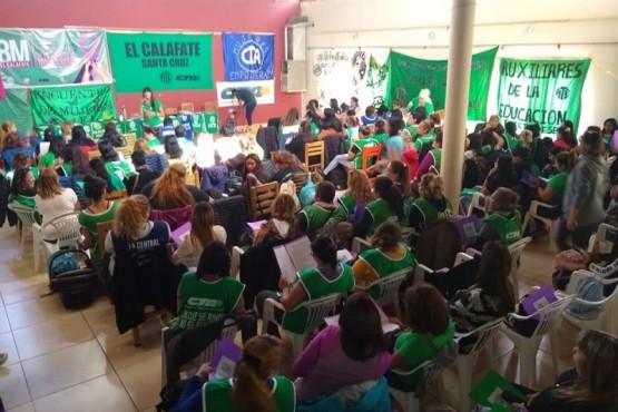 Más de 200 mujeres en el encuentro de ATE