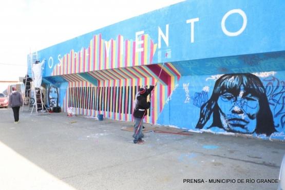 Se realiza el 1º festival de arte público y cultura urbana
