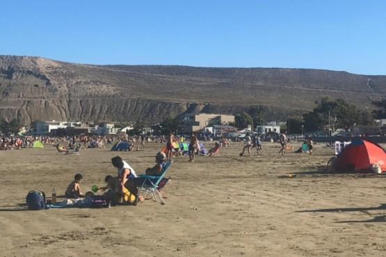 Día de sol y playa