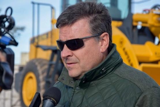 Paulo Croppi, secretario de Obras Públicas. (J.C.C)