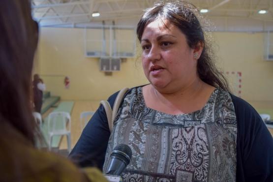 Representante de Participación Ciudadana del Municipio, Teresa Bertancud