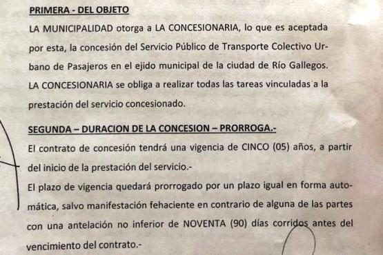 Contrato con Maxia: el municipio deberá pagar 21 millones de pesos para el servicio de colectivos