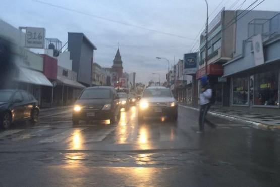 EN ALERTA: en Comodoro caerán unos 58 milímetros de agua