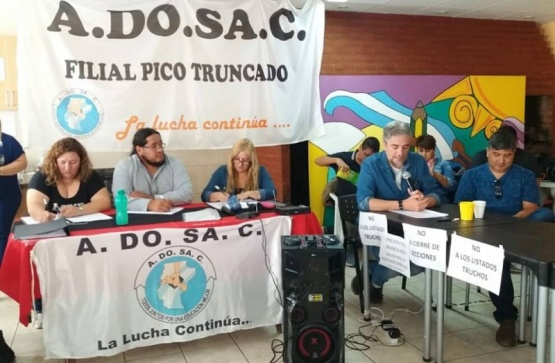 Se reunieron en Pico Truncado.