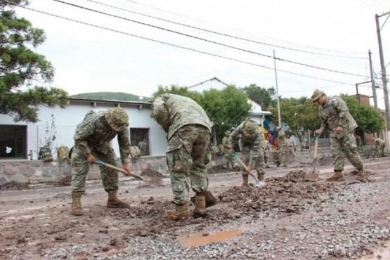 Municipio trabaja con el Ejército