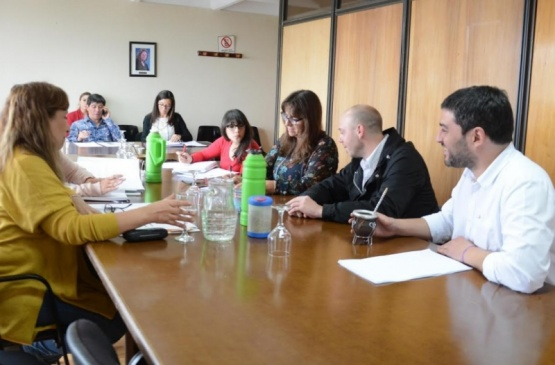 Primera reunión de la Comisión de Género.