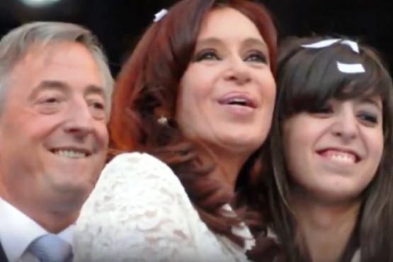 Cristina publicó un video sobre la salud de Florencia: