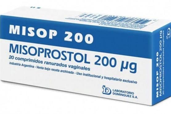 Misoprostol, administrado para la ILE.