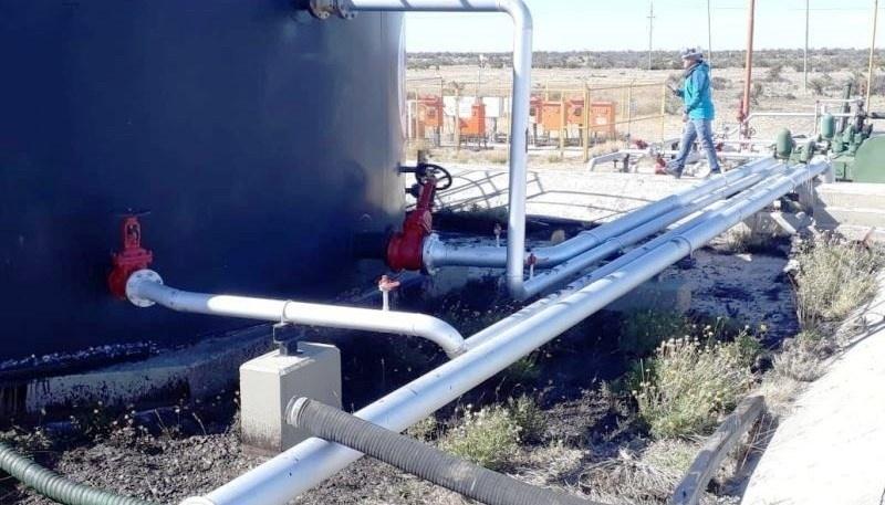 """El incidente ocurrió en la Batería ME 502-001 en """"Meseta Espinoza""""."""
