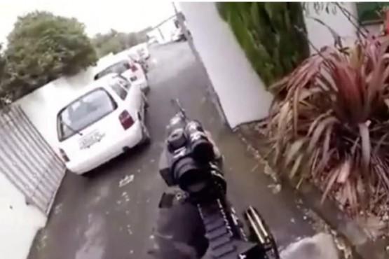 Un terrorista emitió la masacre de Nueva Zelanda por Facebook Live