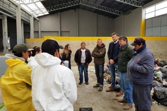 Trabajos en el vaciadero de Río Gallegos