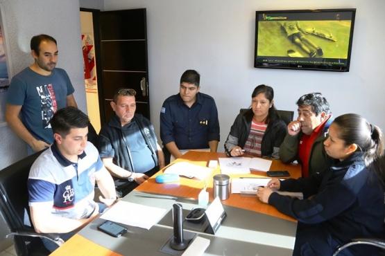 Reunión por operativo de seguridad para la Corrida Atlética de TiempoSur